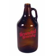64-AMB ½ Gallon Amber Growler