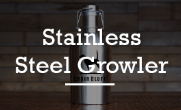 SSG64-SS 64oz Stainless Steel Growler